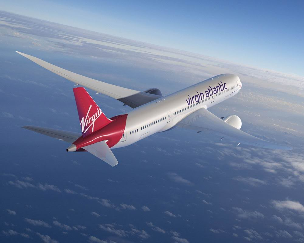 Virgin Atlantic VAA 787-9 ArtworkK64012-01