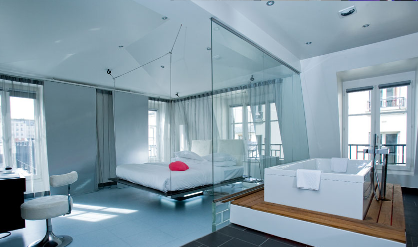 Les meilleurs h tels design sur paris le blog grand for Top design hotels in paris
